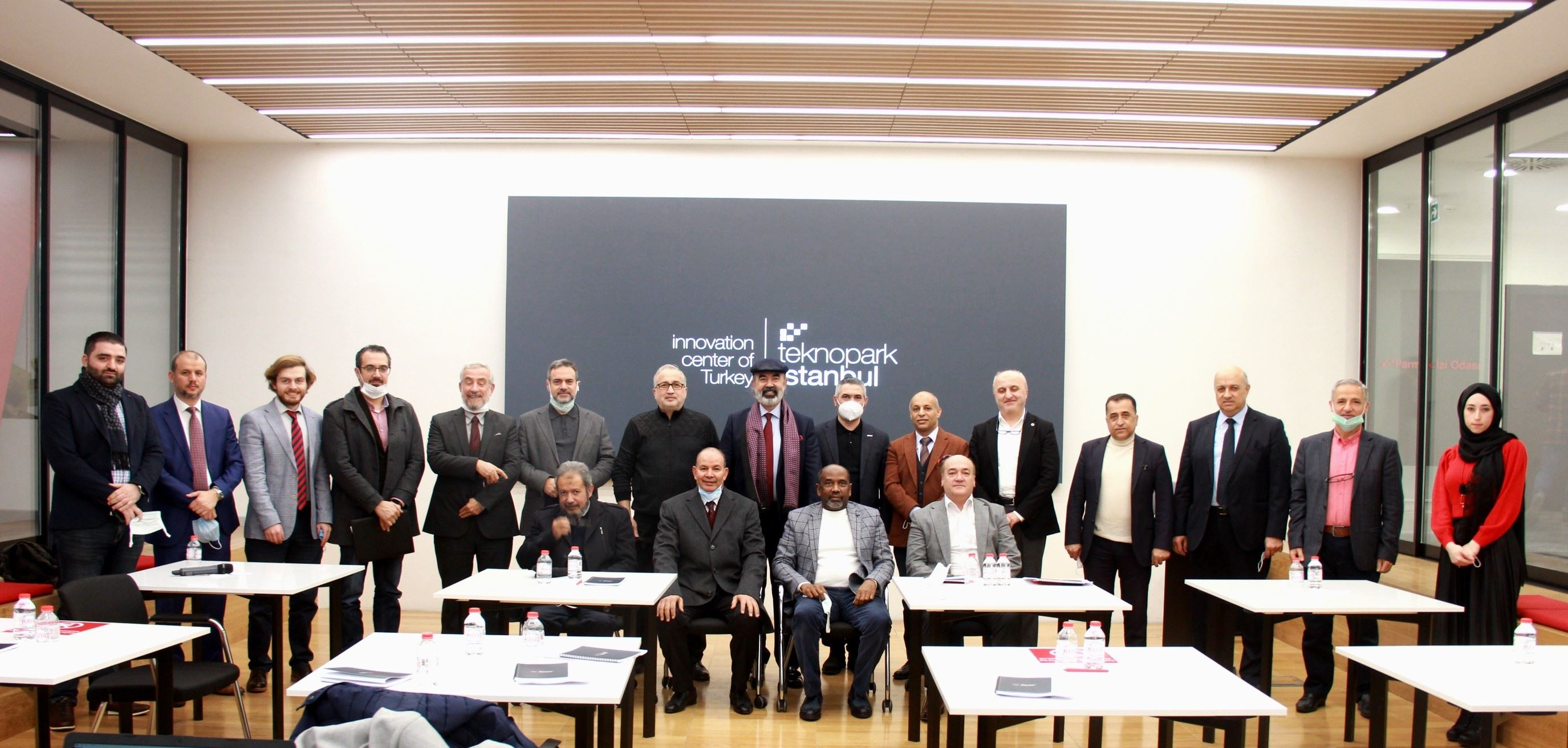 A visit to Teknopark Istanbul by the chairmans of Arab associations in Turkey